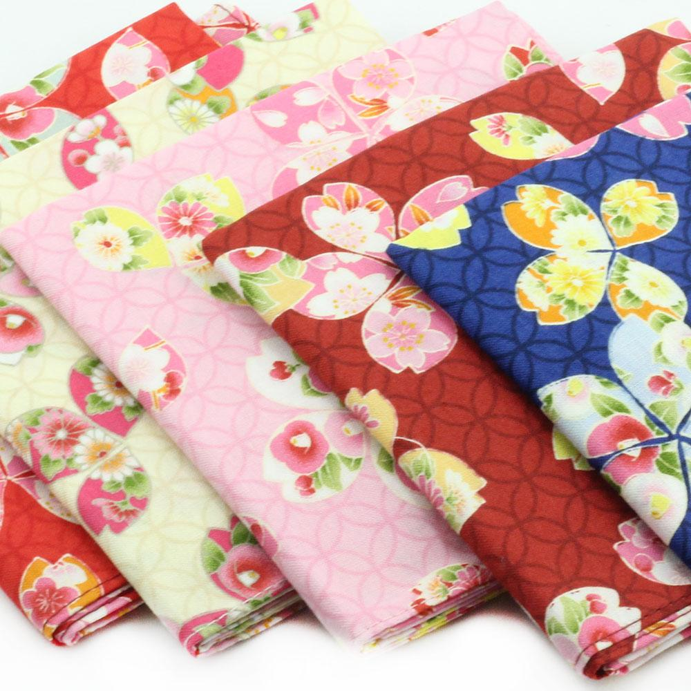 Japanese Cotton - Floral