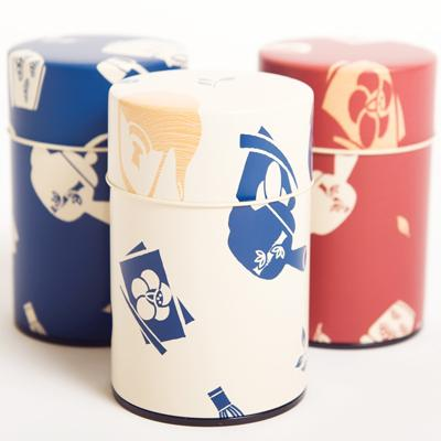 Printed Tea Canisters