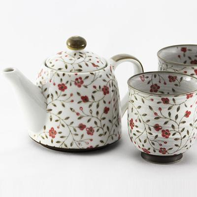 Red Tea Sets