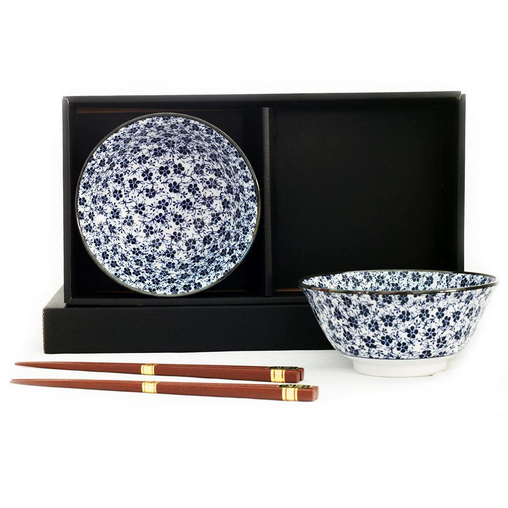 Koume 2 Bowl Set/chopsticks