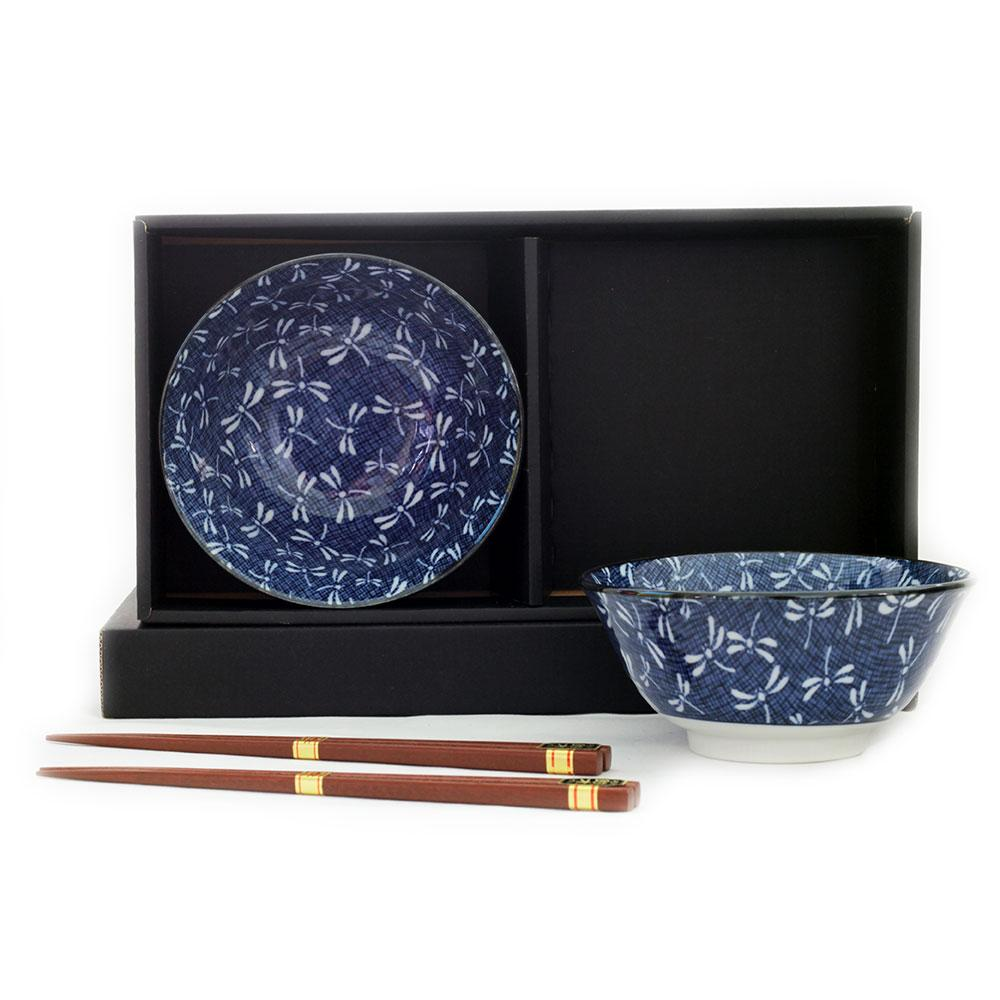 Tonbo 2 Bowl Set/chopsticks