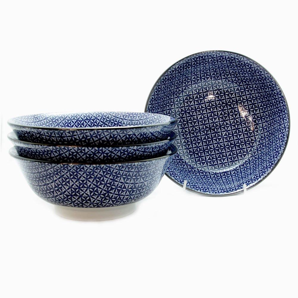 Shippou 21cm Ramen Bowl (4/box
