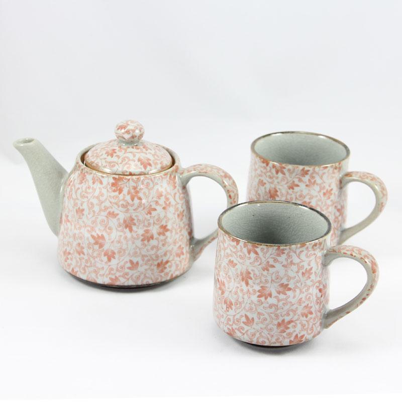 Kusa RED TEA MUG Tea for Two
