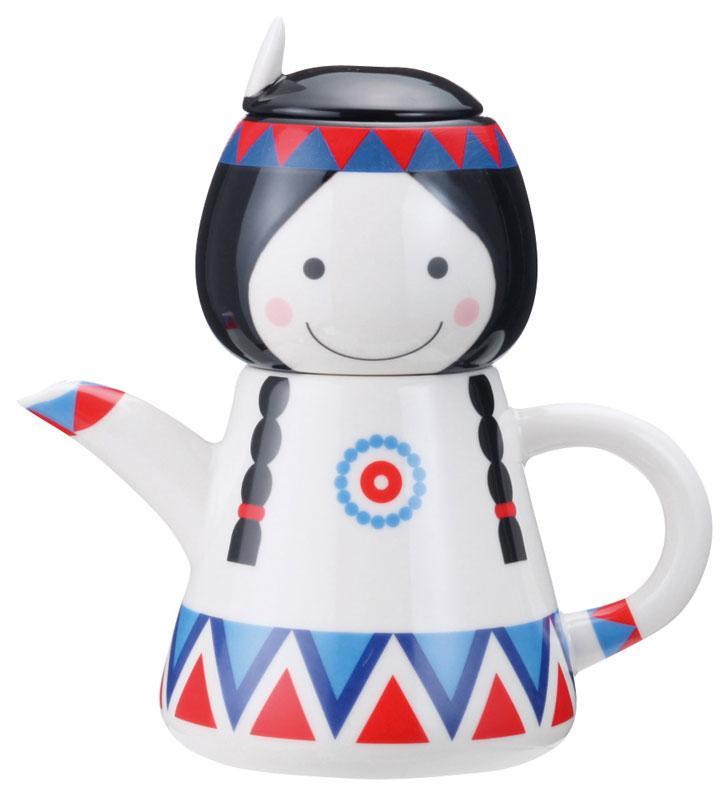 Pocahontas Tea for One Set