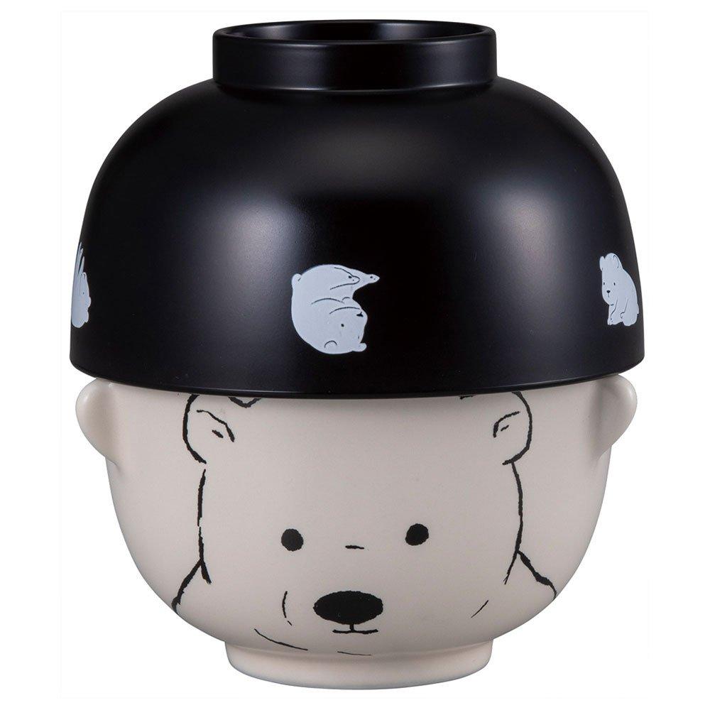 Double Sml Bowl Set Polar Bear