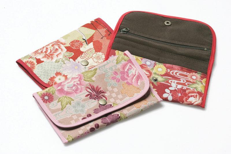 Kimono Fabric Wallet