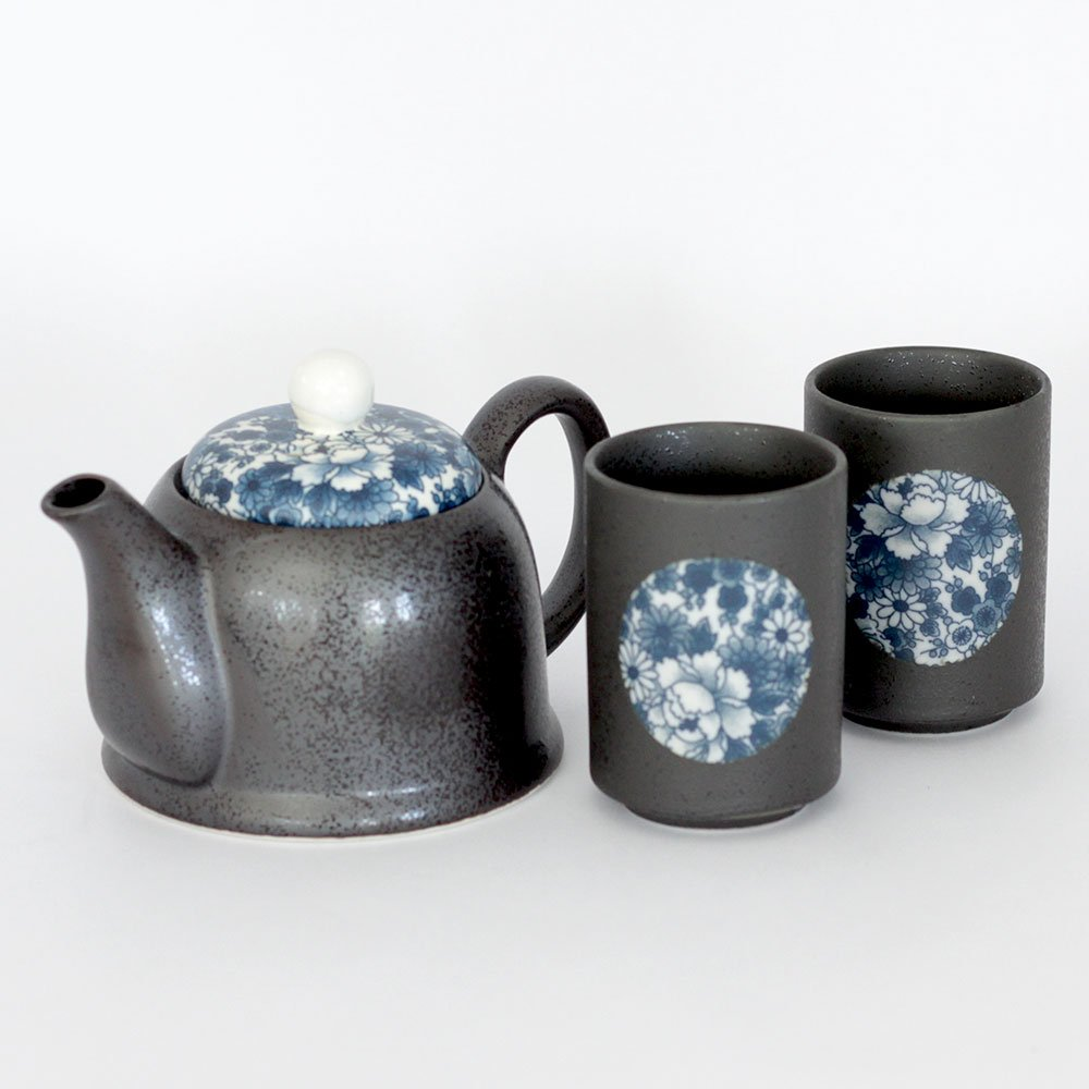 Ai Yuzen 2 Cup Tea Set
