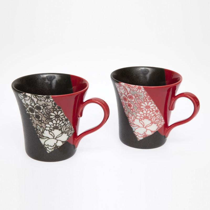 Aka Kuro Pair Mugs
