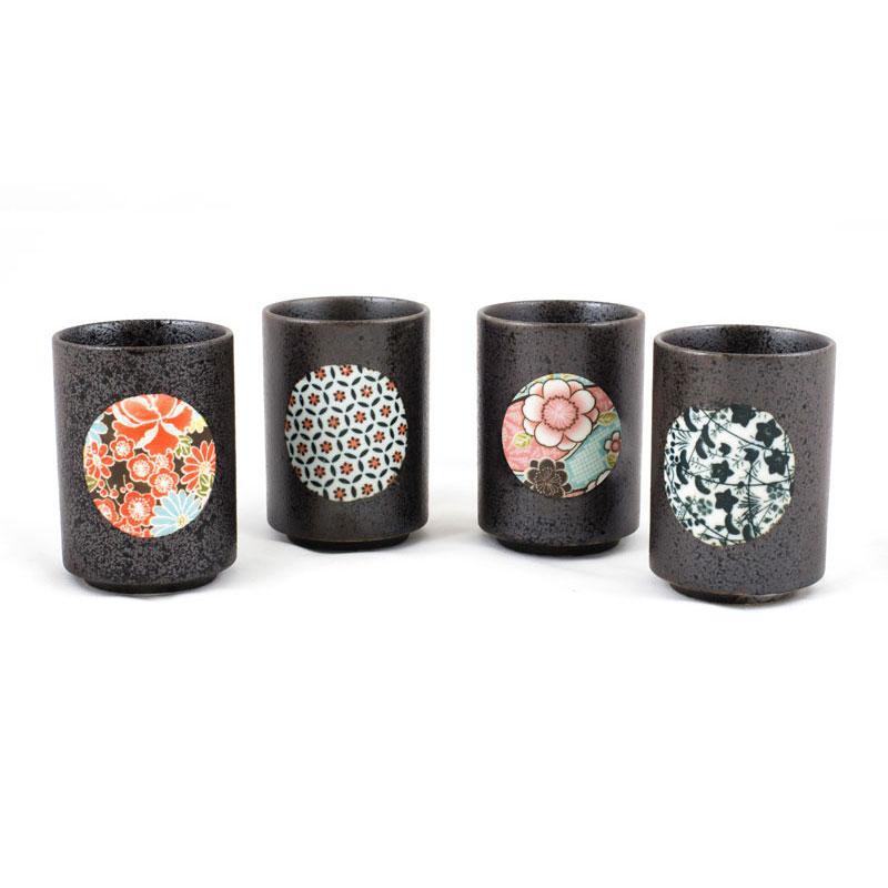 Kiritachi Tea Cup Set *4 Cups