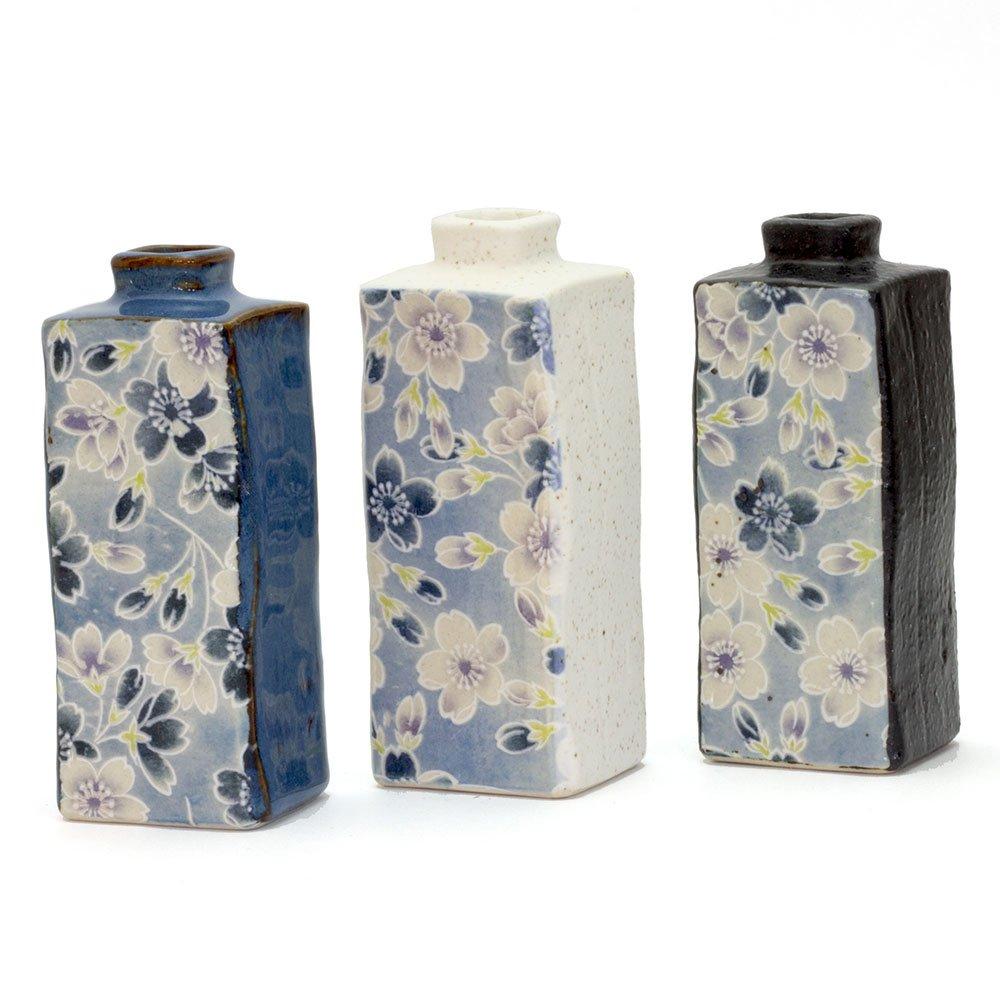 Sakura Zome Rectangle Vase