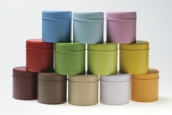 CHOCOLATE Column Tea Canister - Click for more info
