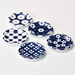 Hana Comon Small Plate Set (5)