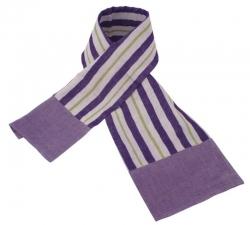 Murasaki Stripe Cotton Scarf
