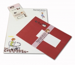 Cafe Letter Set by Shinzi Kato - Click for more info