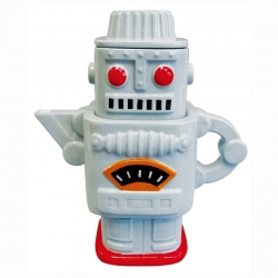 Retro Robot Grey Tea for Two - Click for more info