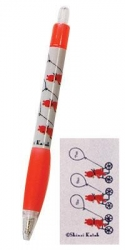 Bike-Ballpoint Pen - Click for more info