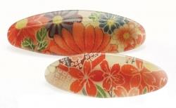Kimono Oval Barrette X-LGE - Click for more info