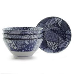 Quilt 18cm Bowl (4/box)