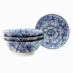 Botan 21cm Ramen Bowl (4/box) - Click for more info