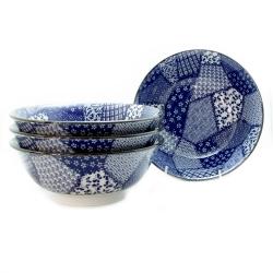 Quilt 21cm Ramen Bowl (4/box) - Click for more info