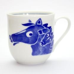 Zodiac Animal Mug HORSE