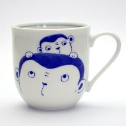 Zodiac Animal Mug MONKEY