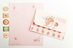 Ichigo (Strawberry) Letter Set