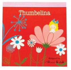 Thumbelina/Flower-Memo Pad