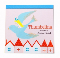 Thumbelina/Bird Memo Pad