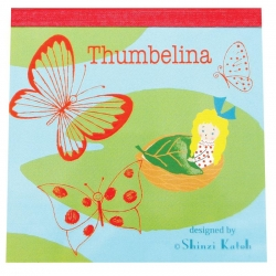 Thumbelina/Pond-Memo Pad