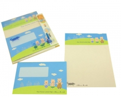 3 Little Pigs-Letter Set - Click for more info