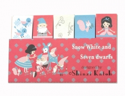 Snow White/Song Sticky Flags