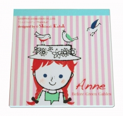 Anne/With Birds-Memo Pad