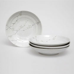 Sumie 23cm Bowl (4/box) - Click for more info