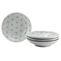 Asanoha 23cm Bowl (4/box)