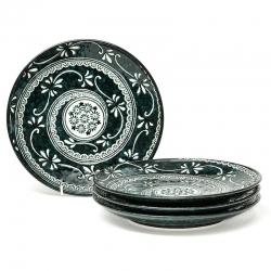 Mishima 25.5cm Large Plate (4)