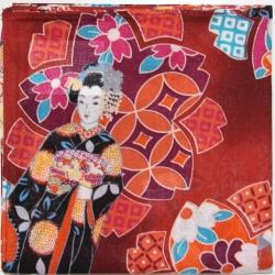 Japanese Cotton Kimono - Click for more info