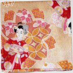 Japanese Kerchief Kimono - Click for more info