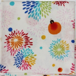 Japanese Cotton Fireworks - Click for more info
