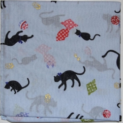 Japanese Kerchief Cats - Click for more info