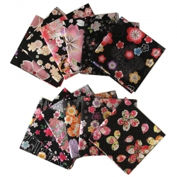 Japanese Kerchief BLACK Assort - Click for more info