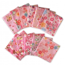Japanese Kerchief PINK Assort - Click for more info