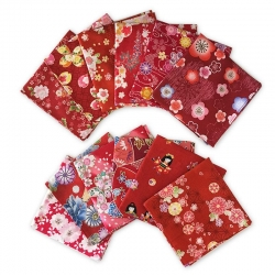 Japanese Kerchief RED Assort - Click for more info