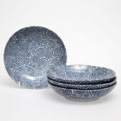 Spiral 17cm Small Bowl (4/box)