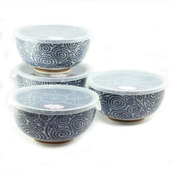 Spiral 16cm LID Bowl (4/box)