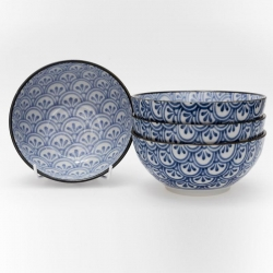 Peacock 16cm Deep Bowl (4/box) - Click for more info