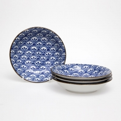 Peacock 21cm Bowl (4/box) - Click for more info