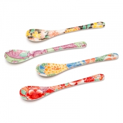 Yuzen Spoon Set (4) - Click for more info