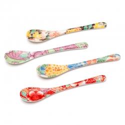 Yuzen Ceramic Spoon Set (4)