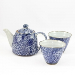Quilt CONE Cup Tea for Two Set